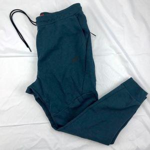 Nike Tech Fleece Cuffed Jogger Sweatpants Green